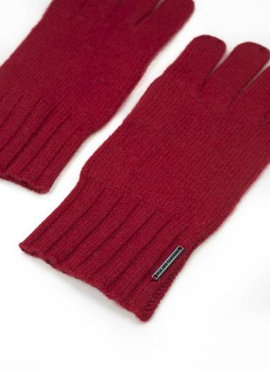 Silk and Cashmere Eldiven Kırmızı